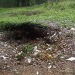 The Water Project: Ematetie Primary School -  Garbage Site