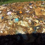 The Water Project: Munyanda Primary School -  Garbage Pile