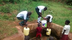 The Water Project:  Fetching Water In The Community