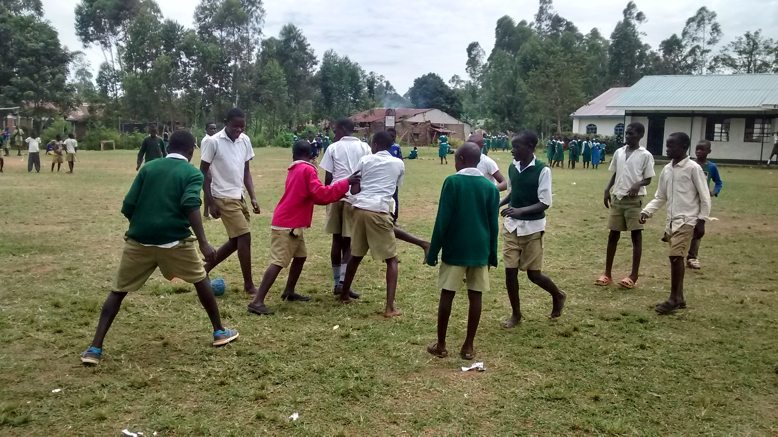 The Water Project : 11-kenya18015-students-playing