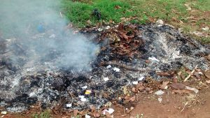 The Water Project:  Burning Garbage