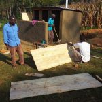The Water Project: Buhunyilu Primary School -  Latrine Construction