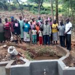 The Water Project: Mkunzulu Community -  Group Picture By The Spring Under Construction