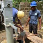 The Water Project: New London Community, Magburaka Road -  Drilling