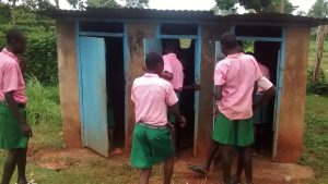 The Water Project:  Latrines During Break