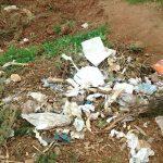 The Water Project: Lwenya Community -  Poor Waste Disposal