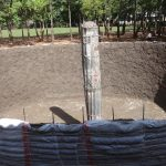 The Water Project: Emulakha Primary School -  Tank Construction