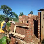 The Water Project: Irenji Primary School -  Latrine Construction