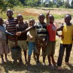 The Water Project: Futsi Fuvili Community B -  Onlookers