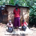 The Water Project: Elunyu Community, Saina Spring -  Sanitation Platforms