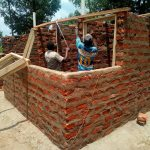 The Water Project: Namalenge Primary School -  Latrine Construction