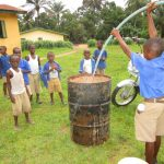The Water Project: Gbaneh Bana SLMB Primary School -  Yield Test