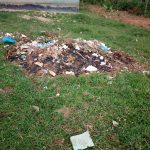 The Water Project: Mutsuma Secondary School -  Garbage Pile