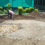 The Water Project: Malinya Girls Secondary School -  Tank Construction