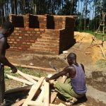 The Water Project: St. Antony Shijiko Primary School -  Latrine Construction