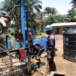 The Water Project: Ernest Bai Koroma Secondary School -  Drilling