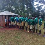 The Water Project: Chavakali Primary School -  Boys Latrines