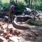 The Water Project: Mkunzulu Community -  Construction