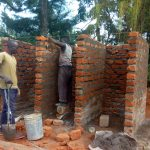 The Water Project: Mwitoti Secondary School -  Latrine Construction