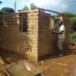The Water Project: Ebubayi Secondary School -  Latrine Construction
