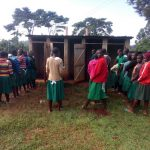 The Water Project: Chavakali Primary School -  Girls Latrines