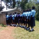 The Water Project: Gidagadi Secondary School -  Shared Latrines