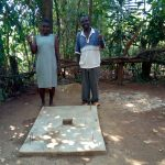 The Water Project: Mtao Community, Tifina Odari Spring -  Sanitation Platforms