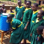 The Water Project: Buhunyilu Primary School -  Hand Washing Station