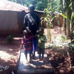 The Water Project: Simuli Community, Lihala Sifoto Spring -  Sanitation Platform