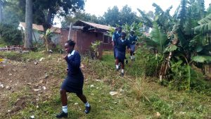 The Water Project:  Rush To Use Primary School Latrines