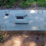 The Water Project: Ematiha Community -  Sanitation Platform