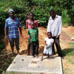 The Water Project: Isese Community -  Finished Sanitation Platforms