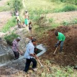 The Water Project: Futsi Fuvili Community A -  Backfilling