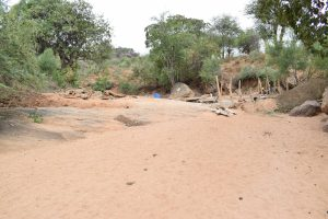 The Water Project : 17-kenya4767-sand-dam-construction