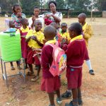 The Water Project: Shanjero Primary School -  Hand Washing Station