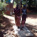The Water Project: Mkunzulu Community, Museywa Spring -  Sanitation Platforms