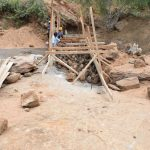 The Water Project: Nzalae Community -  Sand Dam Construction