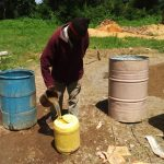 The Water Project: St. Antony Shijiko Primary School -  Tank Construction