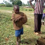 The Water Project: Futsi Fuvili Community A -  Replanting Grass