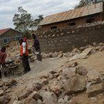 The Water Project: Kwa Kaleli Primary School -  Construction