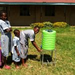 The Water Project: St. Antony Shijiko Primary School -  Hand Washing Station