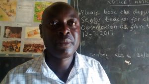 The Water Project:  Mr Ainea Gongo