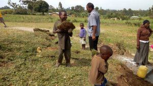 The Water Project : 20-kenya4747-replanting-grass