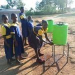 The Water Project: Emukhalari Primary School -  Hand Washing Stations