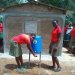 The Water Project: Malinya Girls Secondary School -  Hand Washing Station