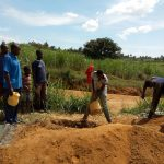 The Water Project: Futsi Fuvili Community A -  Latrine Construction