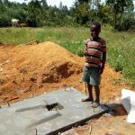 The Water Project: Futsi Fuvili Community A -  Sanitation Platforms