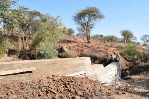 The Water Project : 24-kenya4767-sand-dam-construction