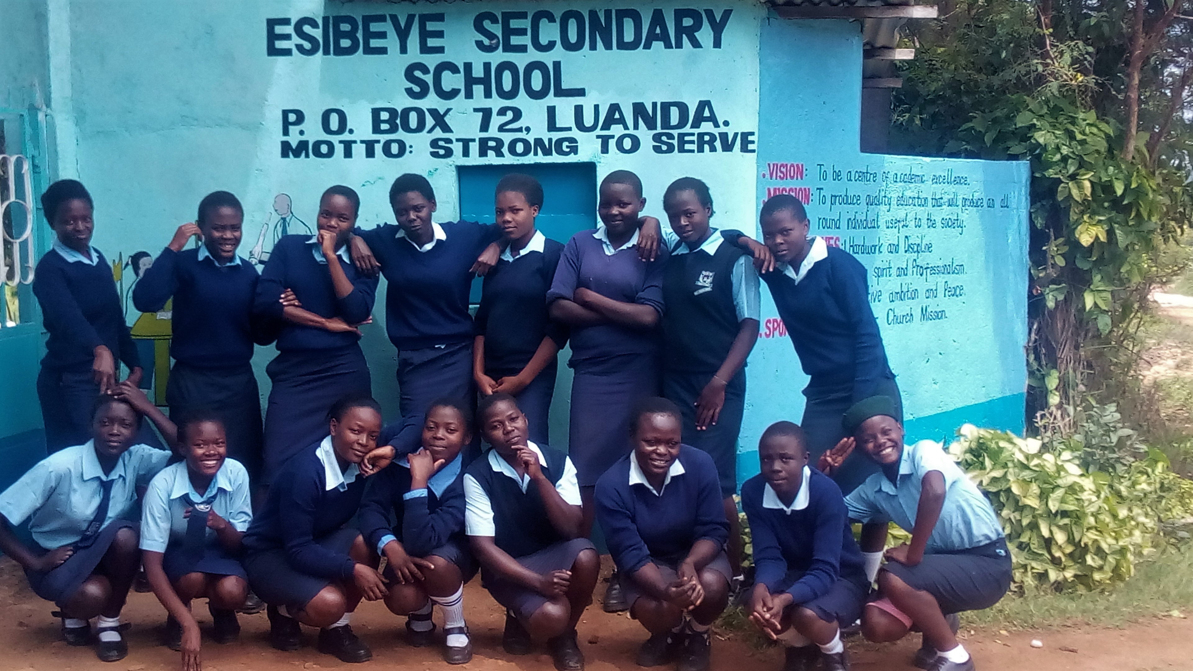 The Water Project : 3-kenya18017-school-gate