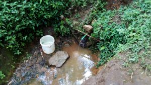 The Water Project:  Nearby Water Source